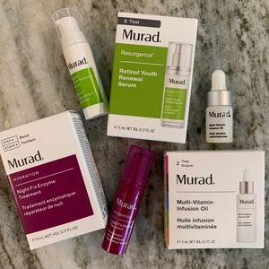 MURAD Skincare Facial Serum Moisturizer Bundle Lot